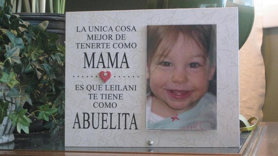 Abuela Frame SELECT ANY GRANDMOTHER Name Abuela Picture