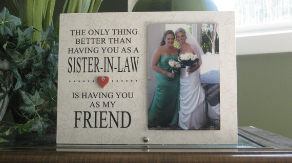 Gift For Sister In Law Wedding: Items Similar To SISTER-IN-LAW Wedding Gift, Sister-In-Law
