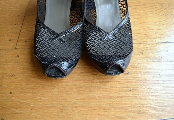 1940s Mary Jane shoes . vintage 40s shoes - image 3