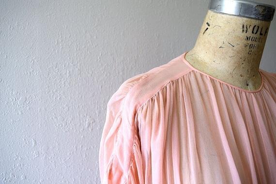 Vintage 1930s dress . 30s silk chiffon dress - image 5
