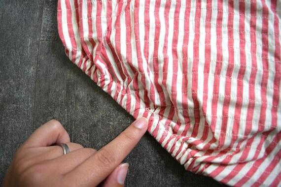 1940s bikini . vintage 40s striped swimsuit - image 9