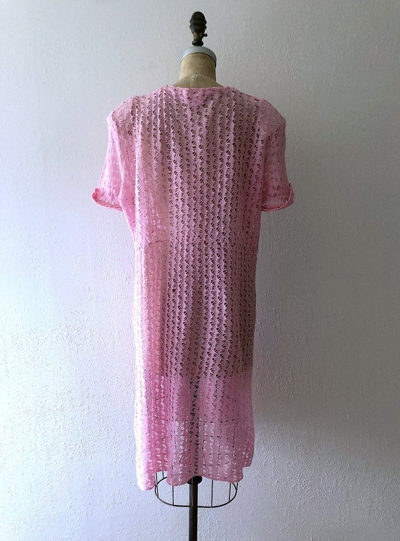 1940s knit dress . vintage 40s dress - image 4