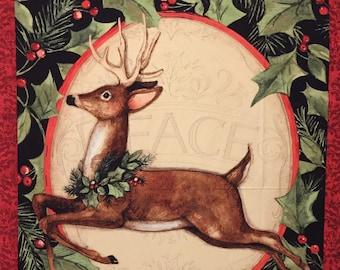 Woodland Deer  - Susan Winget Fabric Panel