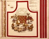 ONLY 1 AVAILABLE Vintage Farmhouse Collection Apron - V.I.P. Cranston Print Works - Little House on the Prairie - Out of Print