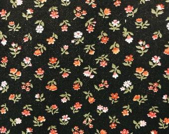 Cotton Fabric 1 yards by Pretty Cranston Print Works 54 X 55