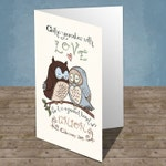 Scriptural Greeting Card - Clothe Yourselves With Love