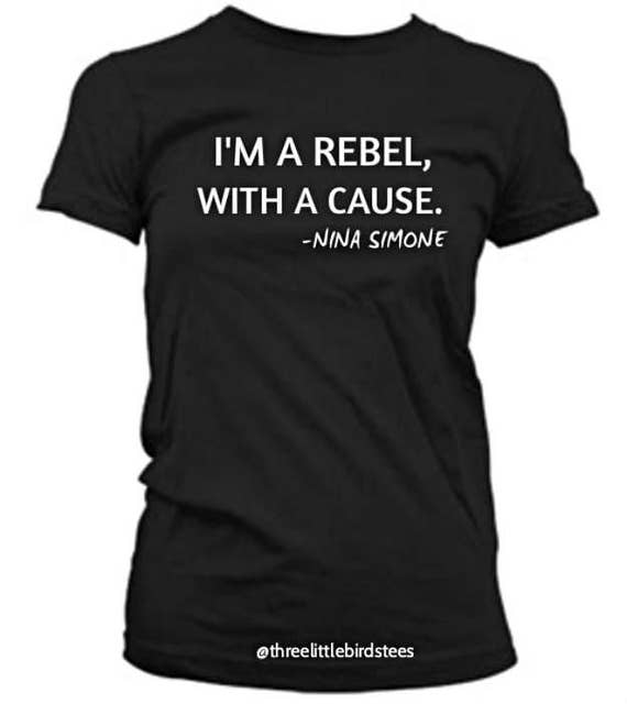 Nina Simone Rebel Tee