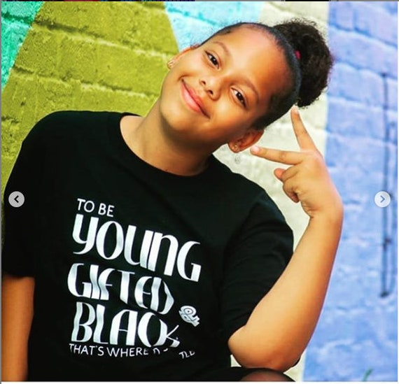 Young Gifted and Black Youth T-shirt