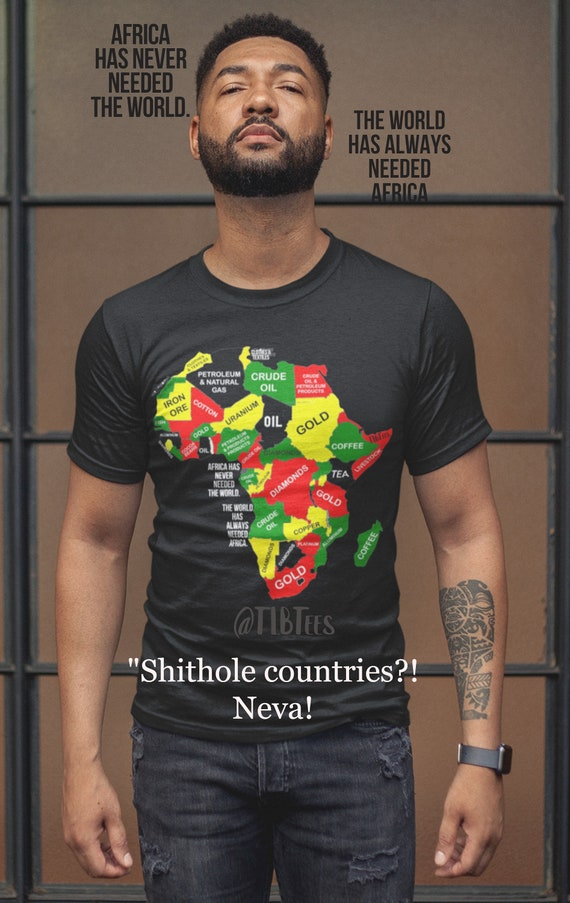 Mother Africa Continent Tee