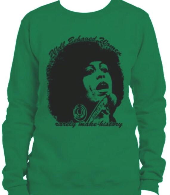Angela Davis  Sweatshirt