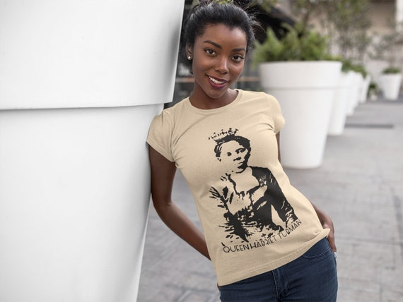 Queen Harriet Tubman Tee Creme