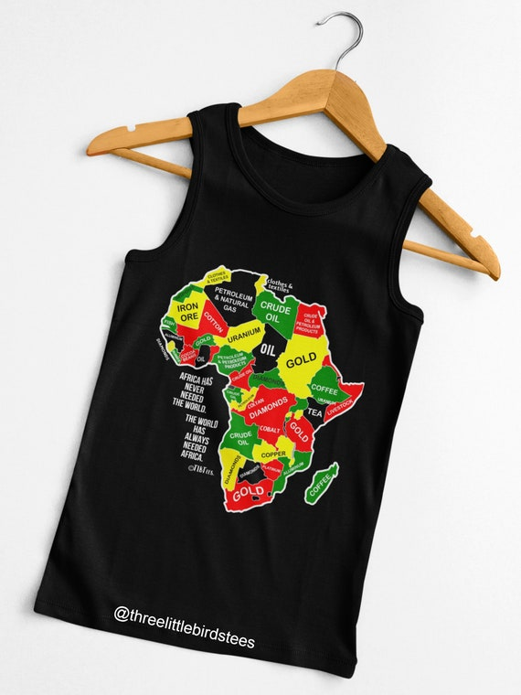 Africa Has Never Needed the World Unisex Tank