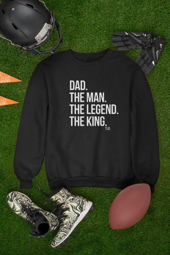 Dad The Man The Legend The King Crewneck Sweatshirt