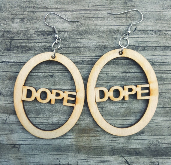 Dope Wooden Earrings
