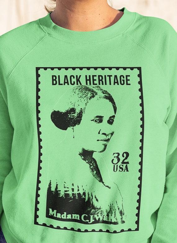 Madame C J Walker Unisex Crewneck Sweatshirt