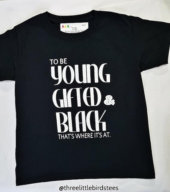 Young Gifted & Black Crew Neck Sweatshirt UKgUUS