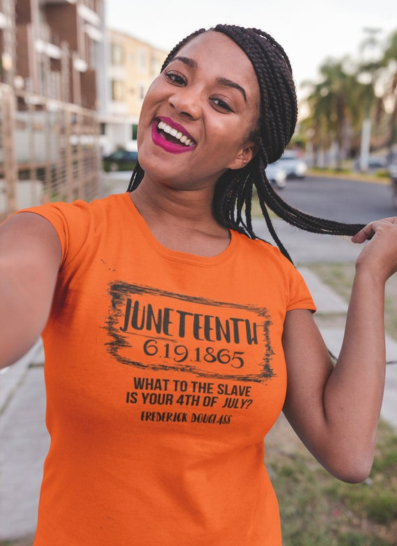 Juneteenth Independence Day Black History Frederick Douglas Women's Tee