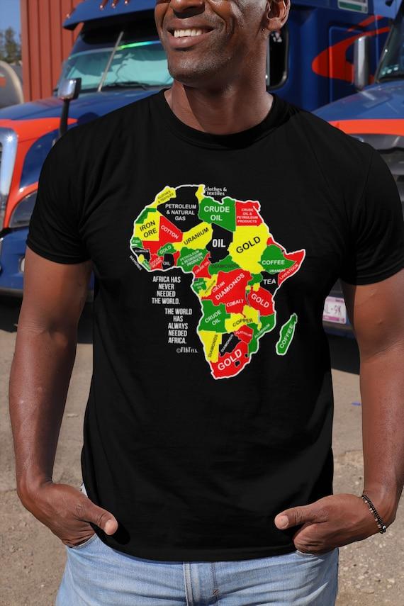 Africa Has Never Needed the World Unisex Tee