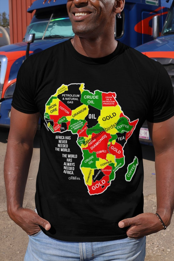 Africa Has Never Needed the World Unisex Tee