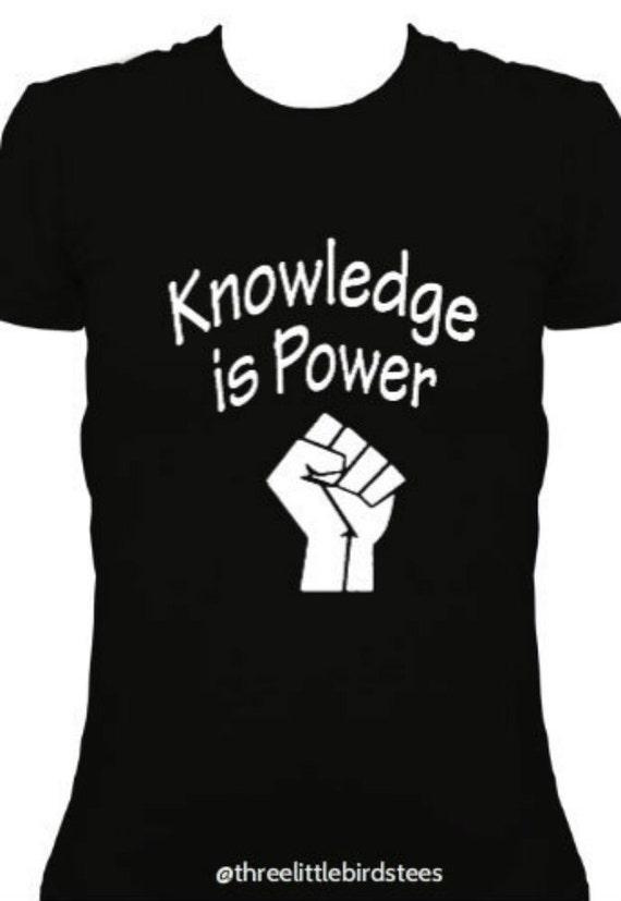 Knowledge is Power Ladies T-shirt
