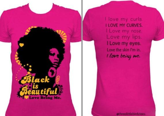 Black is Beautiful Fuchsia