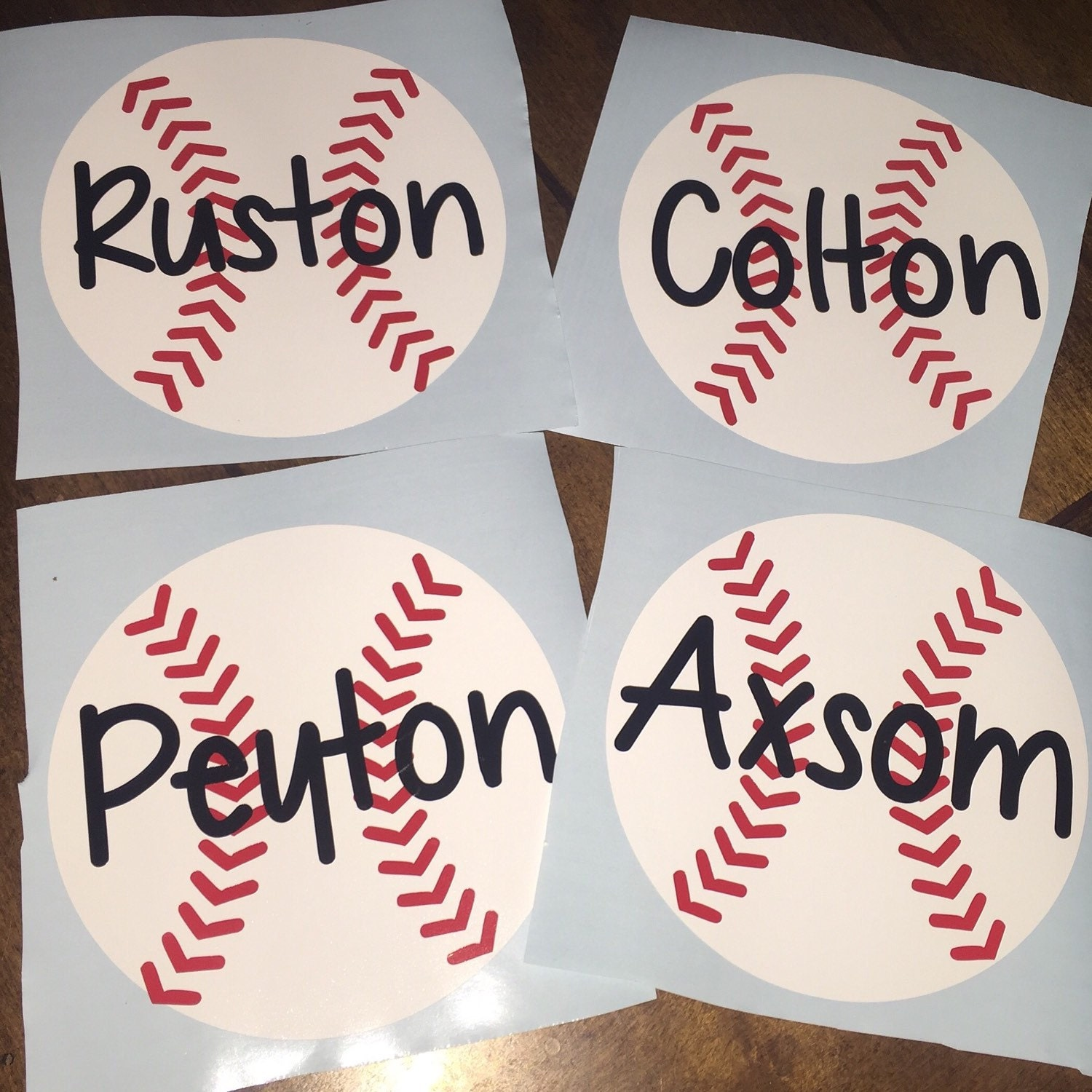 Jermyn Baseball And Softball Home: Baseball And Softball Car Decals With Or Without Player