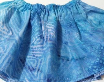 Blue Baltic Baby Tutu Fabric  Skirt