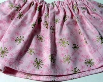 Light Pink Sparkle Baltic  Cotton Fabric BabyTutu  Skirt