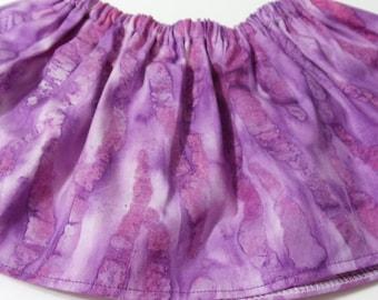 Purple Pink  Baltic  Cotton Fabric BabyTutu  Skirt