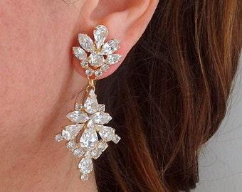 Bridal earrings,Crystal chandelier earrings,Wedding earrings,Bridal earrings,Vintage earrings,Swarovski crystal earrings,Bridal jewelry