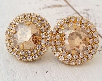 cc135c5a721 Champagne earrings