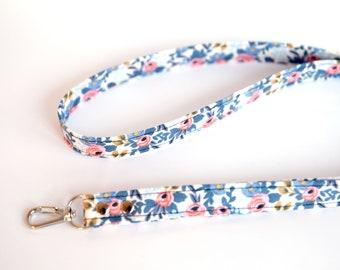 Rifle Paper Lanyard - Floral Lanyard for ID Badge, Keys, USB drive, Whistle, Teachers & Nurses