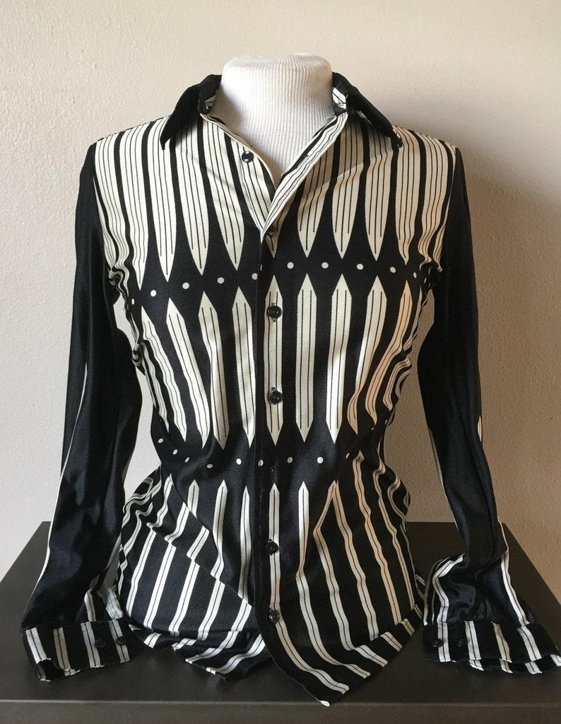 b4b940b7911 Decadence Fashion True Vintage 1960s Shirt Mod Mens Designer