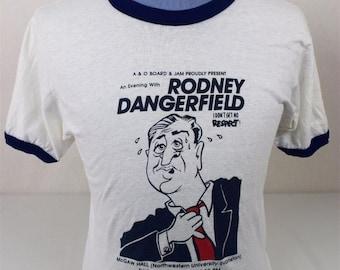 Vintage 1980's Rodney Dangerfield I Don't Get No Respect Northwestern University Shirt