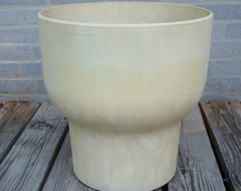 "Rare Vintage 1960's MCM Fesco Chalice 16"" Large Planter Pot Architectural MOD Mid Century Modern"