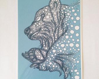 Bear // A4 print