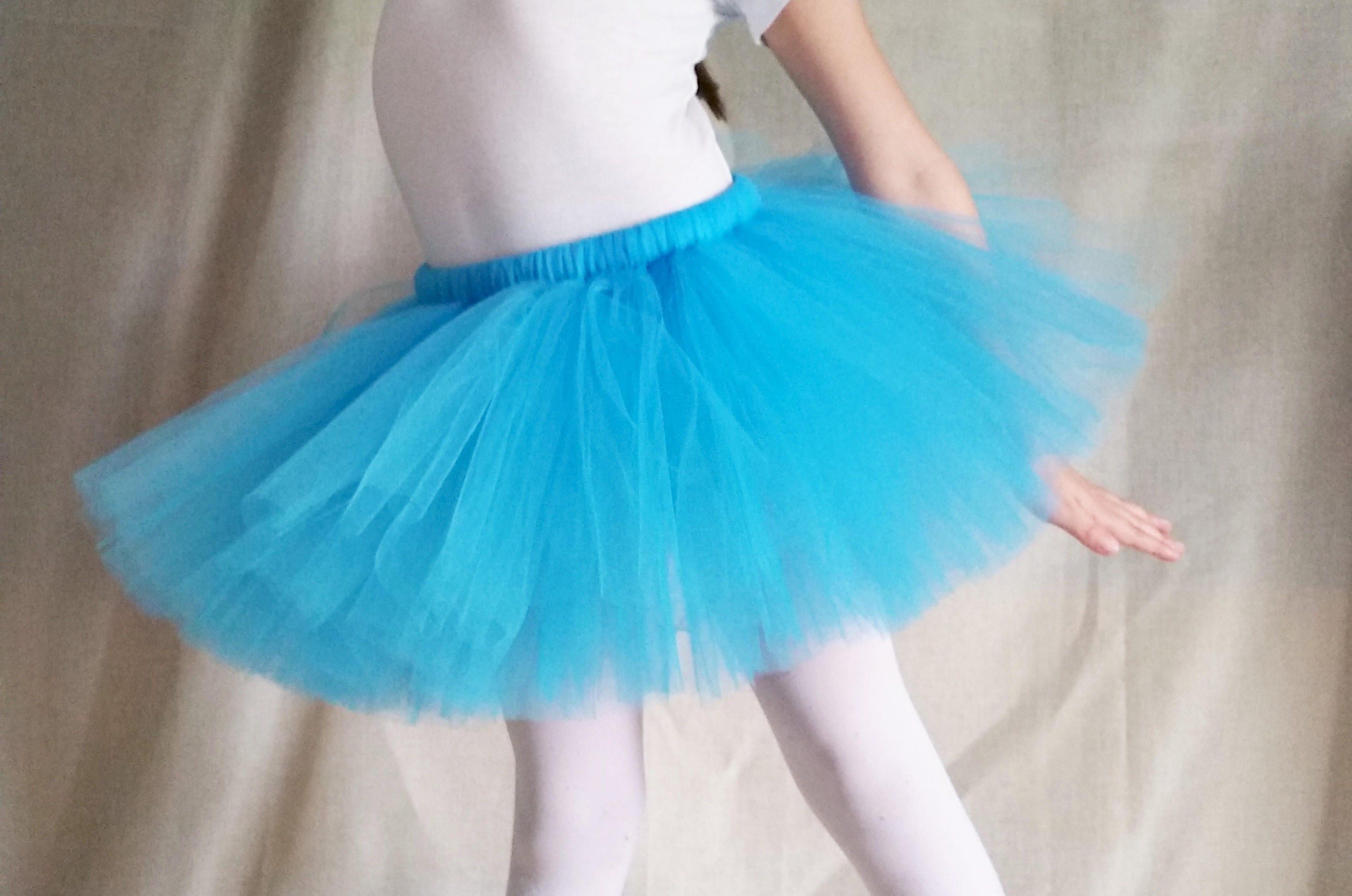 83c1df958c Turquoise Tutu, Blue Tutu, Birthday Party Outfit, Photo Prop Tutu, Baby  Shower Gift, Bright Blue Theme Tutu, Costume Tutu, Halloween