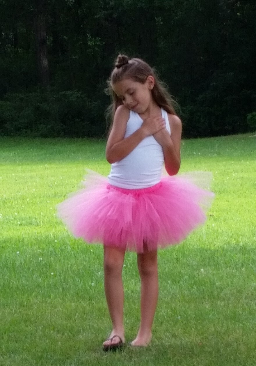 Hot Pink Tutu Pink Tutu Halloween Costume Tutu Birthday