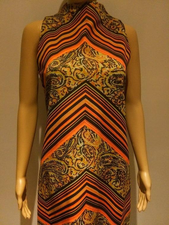 Mod Polyester Midi -1960's - 70's