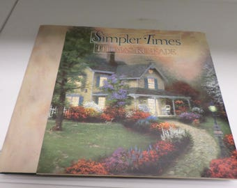 Vintage Thomas Kinkade Book 1996 Simpler Times