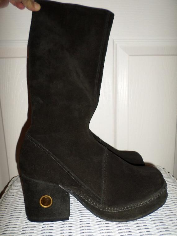 new concept 392e6 2c9fb ... Rare Vintage Boots Authentic Tony Iammatteo Christina Shoe Co Etsy ...