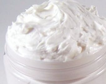Rice Flower & Shea - Thick Whipped Body Butter Cream -  8 oz Jar