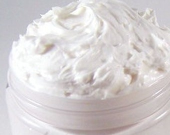 Rice Flower & Shea - Women's Scented Whipped Body Butter Cream -  4 oz Jar