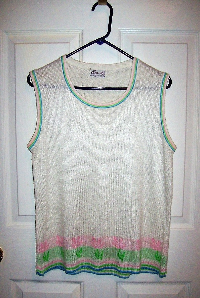 AUTH $70 Lacoste Women Cotton Tank