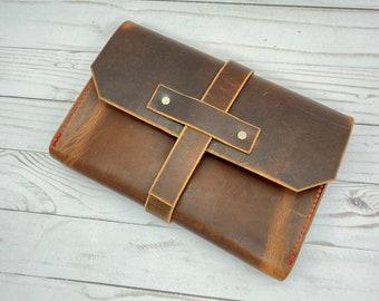 Heritage tan leather bag