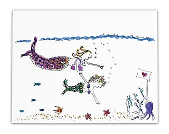 Mermaids Go Out