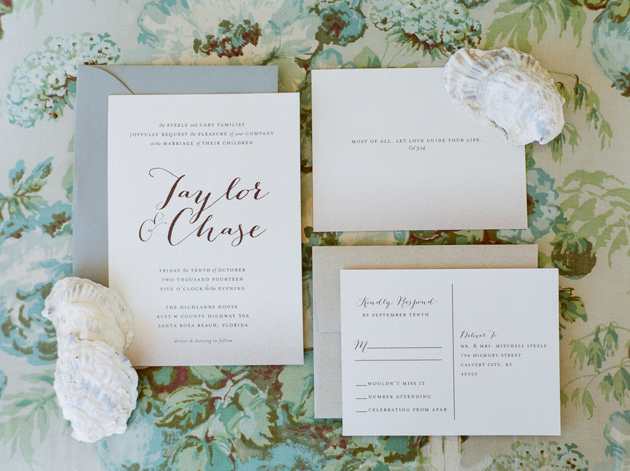 Diy Calligraphy For Wedding Invitations: Calligraphy Wedding Invitation Printable DIY Wedding