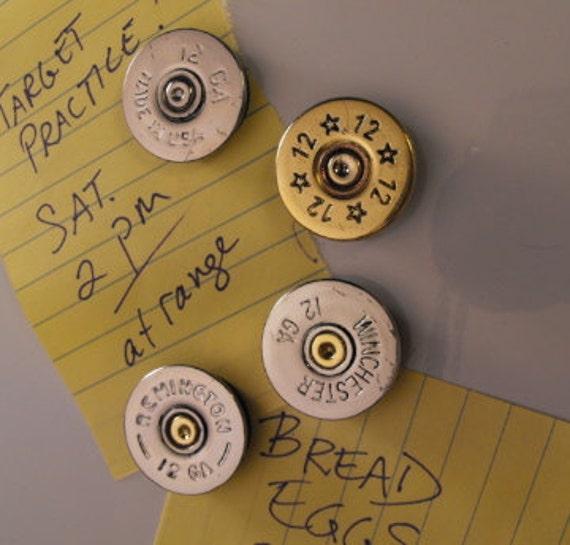 Set of Four Shotgun Shell Magnets