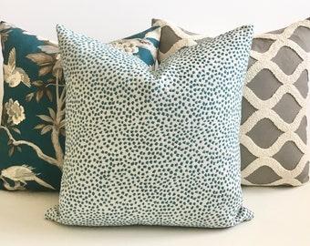 Polka Dot Pillow Etsy