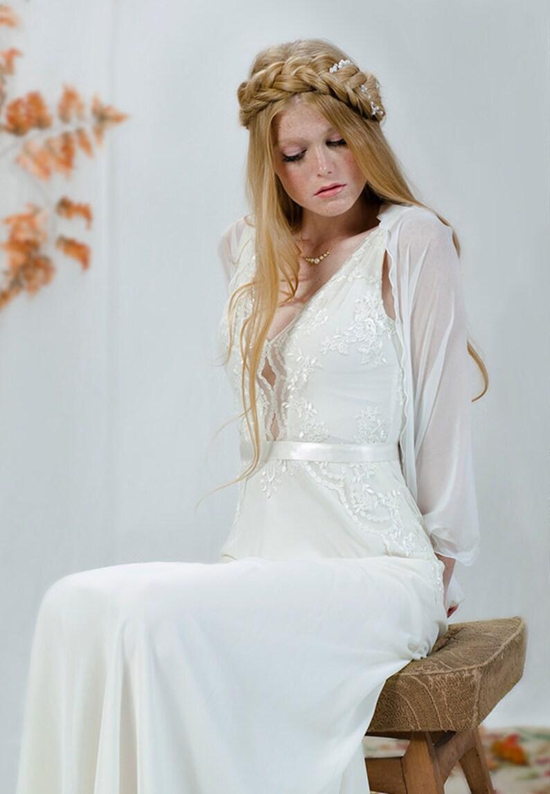 35d4f40653381 Bridal Bolero White Bridal Sheer Shrug. Wedding White Cover   Etsy